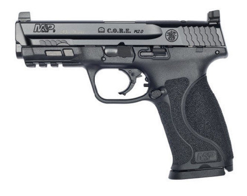 "Smith & Wesson M&P M2.0 C.O.R.E. PRO Performance Center 9mm, 4.25"" Barrel, Black, 17rd"