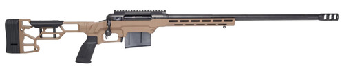 "Savage 110 Precision, 338 Lapua, 24"" Barrel, Cerakote Finish, Flat Dark Earth Color, MDT Chassis, 5Rd,"