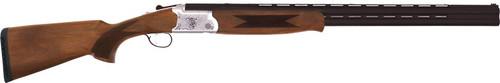 """TriStar Trinity LT O/U 28ga 28"""" VR Barrel Walnut Stock Silver Alloy Receiver"""