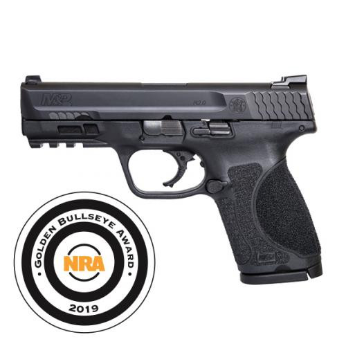 "Smith & Wesson M&P9 Compact 2.0 9mm, 4"" Barrel Tritium Night Sights, 3x 15Rd Mags"