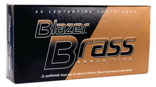 CCI Blazer Brass Ammo .357 Magnum 158gr, Full Metal Jacket 50rd Box