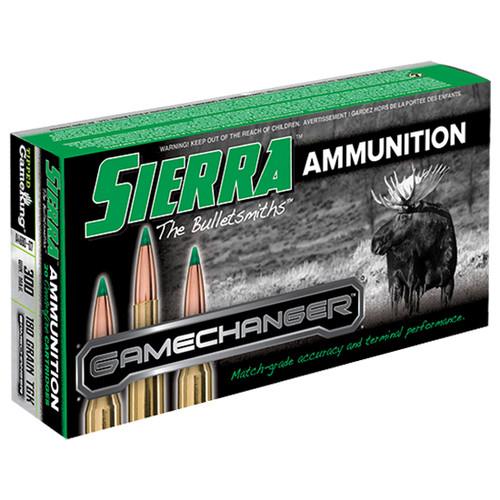 Sierra Ammo 300 Win Mag 180gr, TGK, 20rd Box