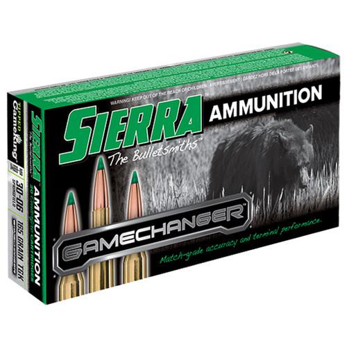 Sierra Ammo 30-06 165gr, TGK, 20rd Box