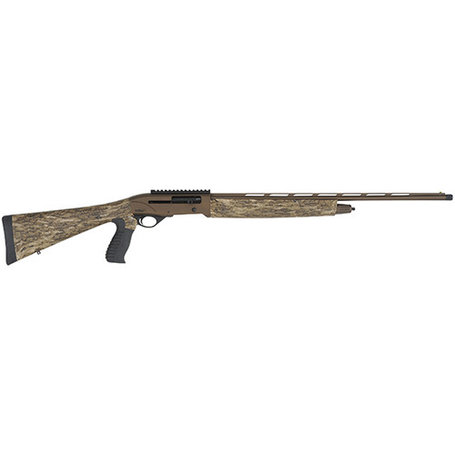 """TriStar, Viper G2, Semi-automatic, 410 Gauge, 24"""" Vent Rib Barrel, Chrome Lined Chamber and Barrel, Four Chokes Included, Fiber Optic Sight, Bronze Receiver,Mossy Oak Bottomland Synthetic Stock and Forend,5Rd"""