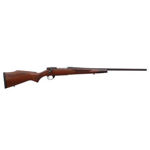 """Weatherby Vanguard Sporter 7mm-08 Remington, 24"""" Barrel, Nutmeg Brown, Matte Blued, 5rd"""