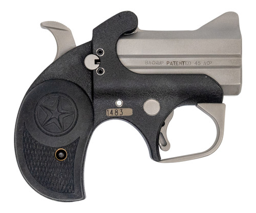 "Bond Arms  Backup .45 ACP/.357 Mag, Trade-In, 2.5"" Barrel, Matte SS & Crinkle, 2rd"
