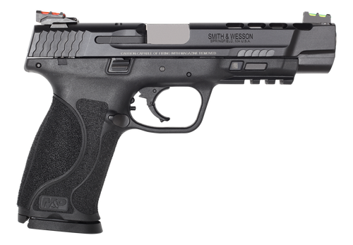 "Smith & Wesson M&P M2.0 Performance Center Ported 9mm, 5"" Barrel, Black, 17rd"