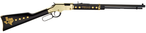 "Henry Golden Boy 22LR Texas Tribute, 20"" Octagon Barrel, Brass Receiver, Walnut Stock, Adjustable Sights, 16rd"