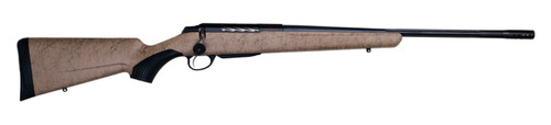 """Tikka T3x Lite, Bolt Action Rifle, 308 WIN, 22.4"""" Fluted Barrel, 1:11 Twist, Threaded 5/8x24, Roughtech Sand Pattern, Synthetic Stock, Black Barrel and Action Color, Right Hand, 3Rd, 1 Mag, Includes Matching Muzzle Brake"""