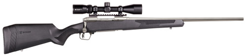 "Savage 110 Apex Storm 6.5 PRC, 24"" Sporter Barrel, Black, Vortex 3X9-40 Scope, 3rd Box Mag"