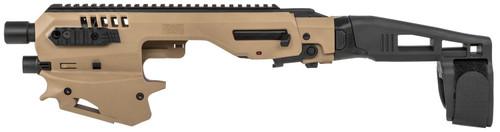 CAA Micro Handgun Conversion Kit Sig P320 Fullsize, Tan Finish