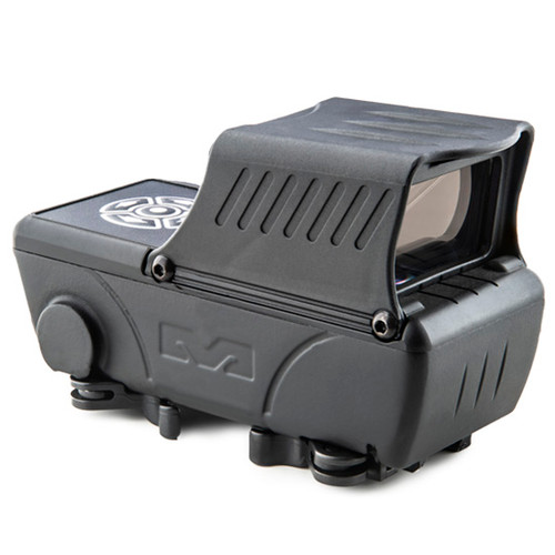 Meprolight, Foresight, Augmented Red Dot Sight, 33x20mm Ovjective Window, Black Color, 15 Reticles, Bluetooth Connectivity, Built-In Rechargable Battery uses USB-C