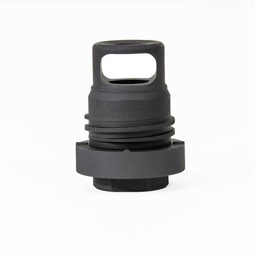 "Yankee Hill Mini Phantom Q.D. Muzzle Brake 30 Caliber 5/8""x24, Black Melonite Steel"