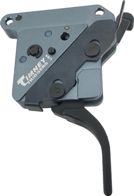 "Timney Triggers ""The Hit"" Straight Trigger For Remington 700, Black, Adjustable from 8oz.-2Lbs, Will Not Fit Magpul Hunter Stock"