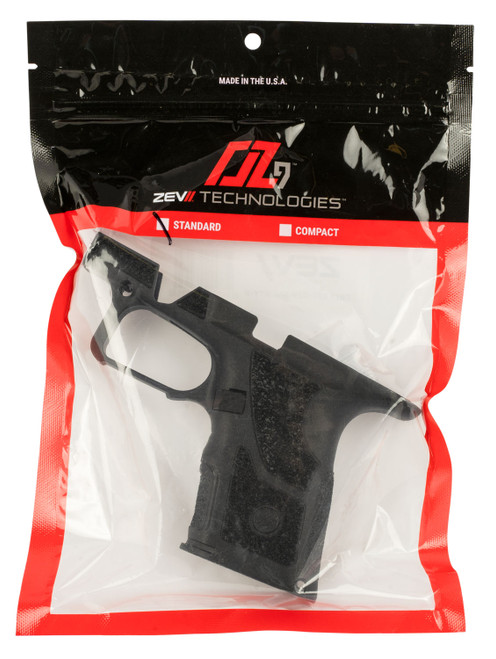 Zev Technologies Shorty Grip Kit O.Z-9 Standard, Black, Fits G19 and G17 Magazines