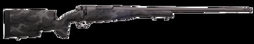 "Weatherby Mark V Accumark Pro, 6.5 Weatherby RPM, 26"" Barrel, Black With Gray Sponge Finish, Carbon Fiber Stock, 4Rd"