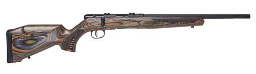 "Savage B-Series BNS-SR .22 LR, 18"" Carbon Sporter Barrel, Wood Laminate, 10rd"