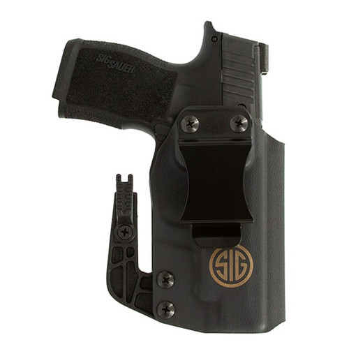 Sig P365XL Appendix Inside Waistband Holster, Right Hand, Black, Kydex
