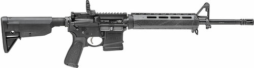 "Springfield SAINT AR-15 5.56/223 16"" Barrel, 1:8 Twist, Flash Hider Included, Bravo Company Gunfighter Grip and Stock, 10Rd, Flip Up Rear"