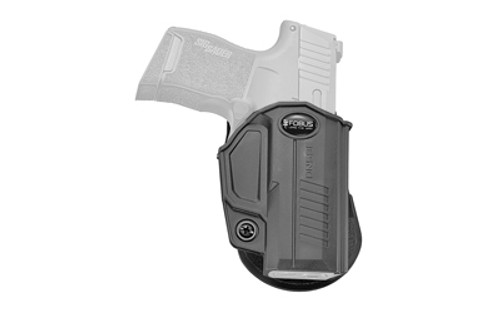 Fobus Evolution E2 Sig P365, Right Hand, Kydex, Black