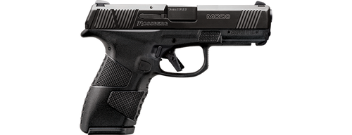 """Mossberg MC-2 Compact 9mm, 4"""" Barrel, Black, 3 Dot Sights, Flat Profile Trigger, 2 Mags, 1-13Rd and 1-15Rd"""