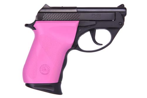 "Taurus PT22, Sub-Compact, 22 LR, 2.8"" Barrel, Polymer Frame, Raspberry/Black, 8Rd, 1 Magazine"