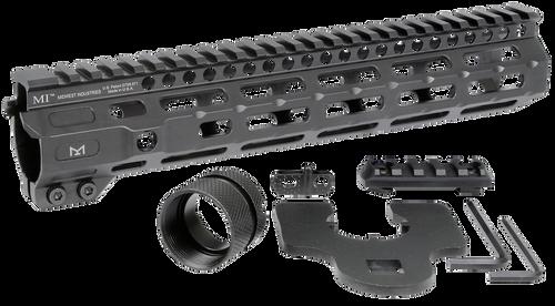 "Midwest Combat M-Lok Handguard AR-15 Black Hardcoat Anodized 6061-T6 Aluminum 10.50"""