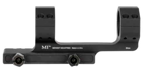 Midwest Gen 2 Scope Mount AR-Platform 30mm Black Hardcoat Anodized