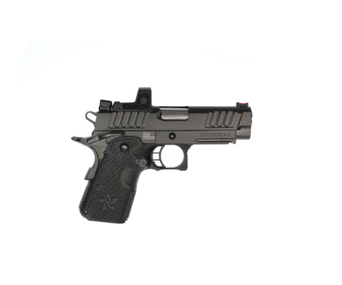 """STI Staccato C DUO 9mm, 3.9"""" Bull Barrel, Carry DUO Sights, Black DLC, 8rd"""