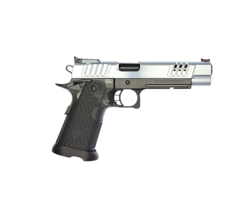 "STI Staccato XL .40 S&W, 5.4"" Bull Barrel, Fiber/Adj. Sights, Chrome/DLC, 15/18rd"