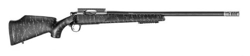 "Christensen Arms Traverse .300 PRC, 26"" Carbon Fiber Wrapped Barrel, Black W/ Gray Webbing, 3rd"