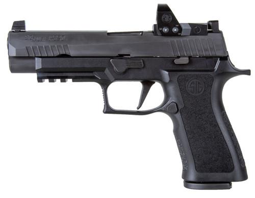 "Sig P320 RXP XFull-Size 9mm, 4.7"" Barrel, XRay3/Romeo1 Pro, Black, 2x 17rd"