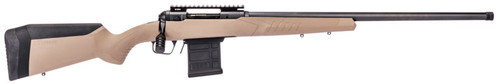"Savage 110 Tactical Desert, 6.5 PRC, 24"" Threaded Barrel, Black Barrel and Action, Flat Dark Earth Polymer Stock, 8Rd,"