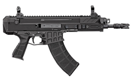 "CZ Bren 2 MS Pistol 7.62x39mm, 9.05"" Barrel, Folding Sights, Black, 30rd"