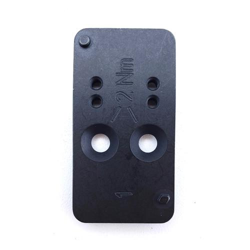 HK Mounting Plate #1 HK VP9 Optic Cuts, Meopta MEO Sight III Black