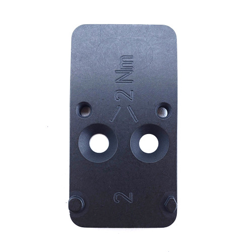 HK Mounting Plate #2 HK VP9 Optic Cuts, Trijicon RMR Black
