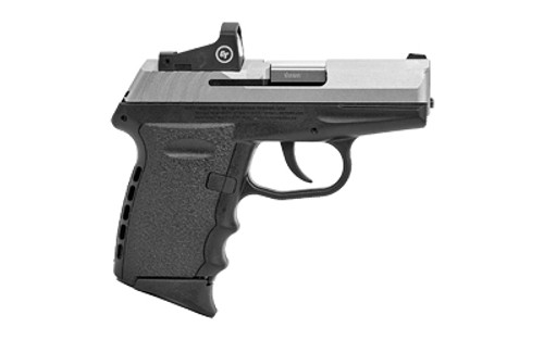 "SCCY CPX-2 DAO Compact 9mm, 3.1""Barrel, Duo-Tone, Red Dot, No Manual Safety, 2x10rd"