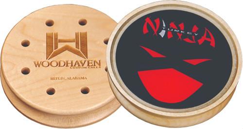 Woodhaven Red Ninja Glass