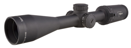 Trijicon Credo 3-9x40 2nd Focal Plane, Red Standard Duplex, 1 in. Tube, Matte Black, Low Capped Adjusters