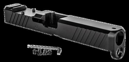 ZEV Technologies Duty Stripped Slide RMR Cover, Glock 17 Gen 5, Slide, Black