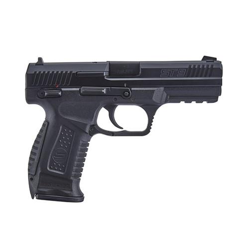 "SAR ST9 9mm, 4.50"" Barrel, Black Steel, Interchangeable Backstrap Grip, 17rd"