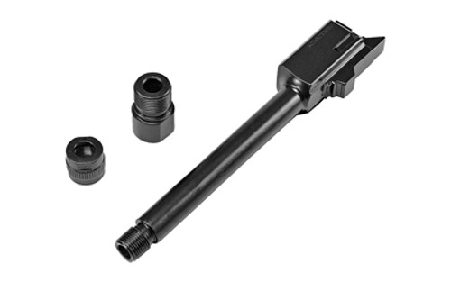 Glock 44 Threaded Barrel 22LR, Barrel Is Threaded in M9 x .75 RH, .500-28 Adapter, Thread Protector, G44 Only