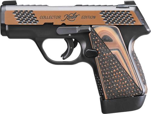 "Kimber EVO SP Raptor 9mm, 3"" Barrel, KimPro II/Tru-Tan, Blk/Tan G10 Grips, 7rd"