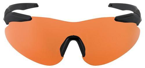 Beretta Soft Touch Shooting Glasses Black Frame Orange Lenses