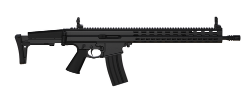 "Robinson Arms XCR-L Competition Rifle 5.56 16"" Barrel Keymod Rail, Black Finish, 30rd Mag"