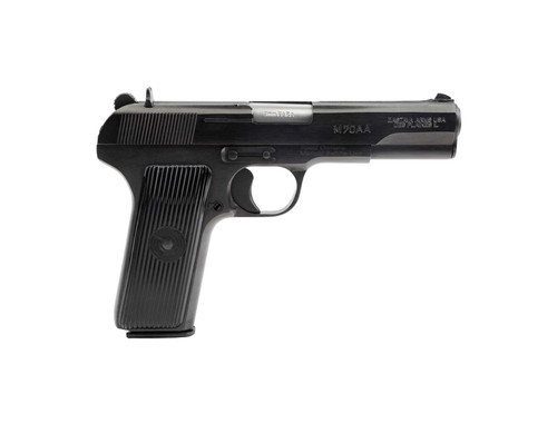 "Zastava M70AA Tokarev Pistol (Soviet TT Type)  9mm  4.5"" Barrel, Blued Finish, 8rd Mag"