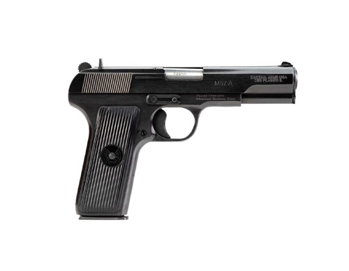 "Zastava M57A 7.62 Tokarev, 4.5"" Barrel, Blued Finish, 9rd Mag"