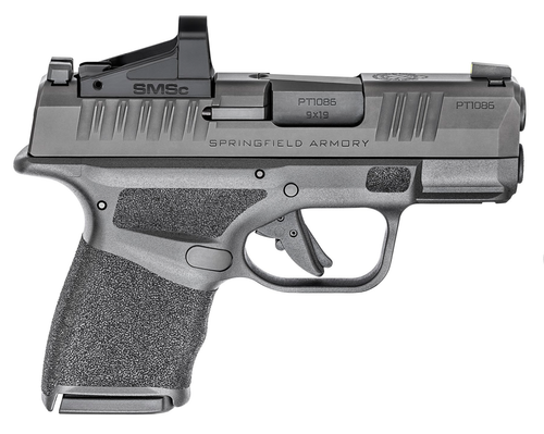 Springfield Hellcat OSP W/Shield SMSC, 9mm, 3 Barrel, Black, 11rd/13rd
