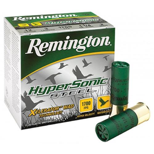 "Remington Hypersonic Steel Loads - Xelerator 12 Ga, 3 1/2"", BB Shot, 1 3/8oz, 25rd Box"