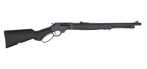 "Henry Lever Action X .45-70 Govt, 19.8"" Barrel, Side Gate, Black, 4rd"